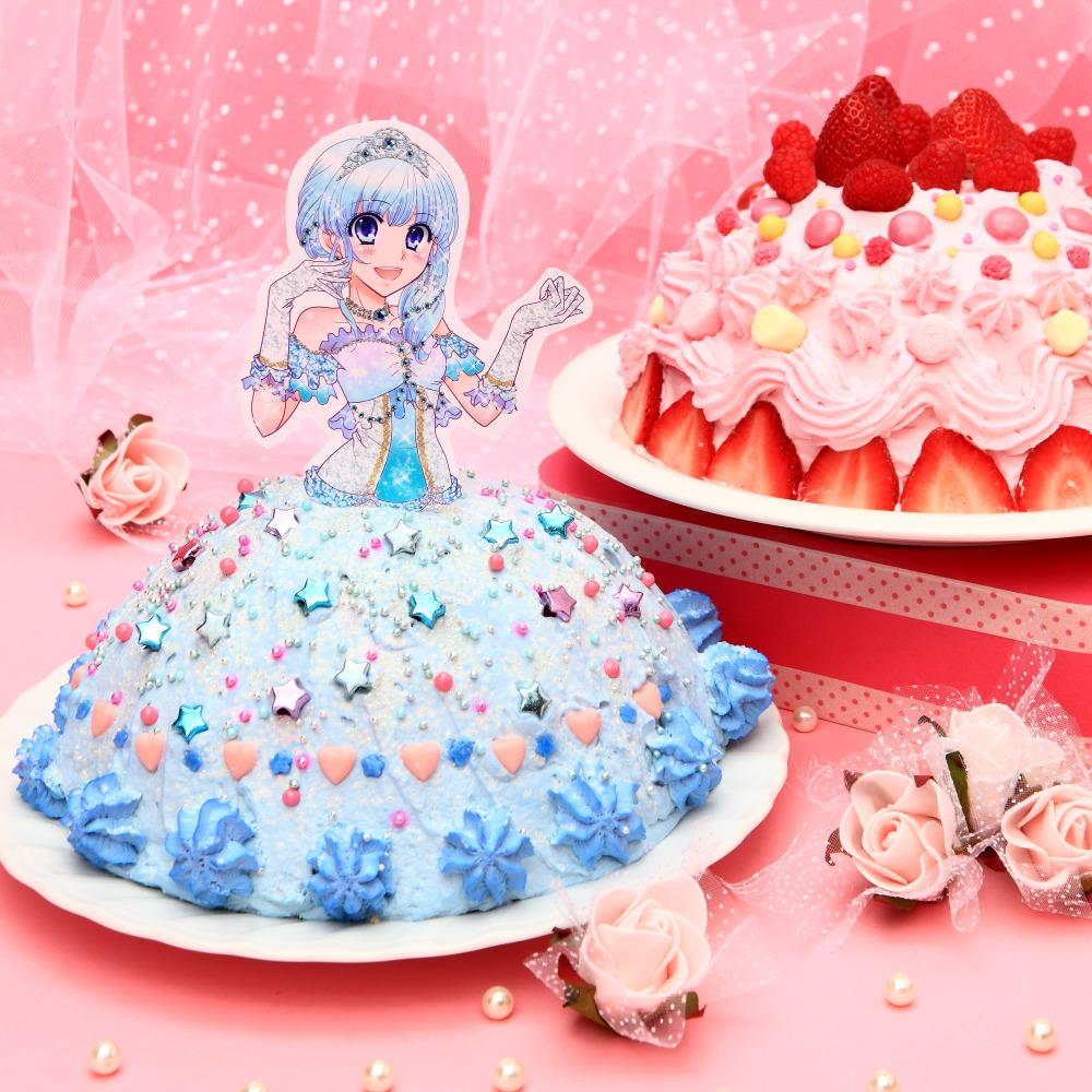 はじめてのクリスマス★DECOケーキ