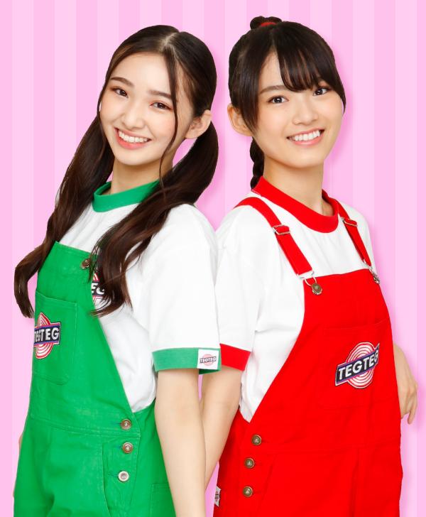 Girls² BSフジ「ガチャムク」キラ&ミサキ どくせん取材